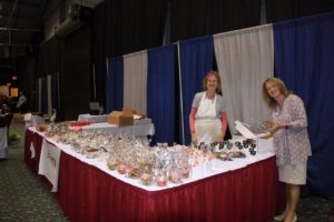 Phyllis and Karen and yummy baked goods