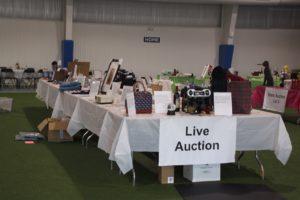 Live Auction tables